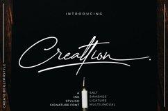 Creattion - a Ink Stylish Signature Font Product Image 1