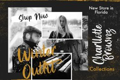 Hysteria - Stylish Script Font Product Image 5