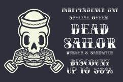 BRADWICK - Sailor Tattoo Font Product Image 3