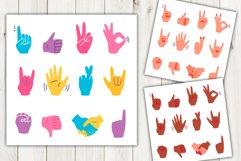 Vector cartoon hand gestures Product Image 1