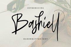 Web Font Bashiel - Handwritten Font Product Image 1