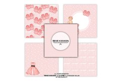 Pink Dreams Baby Girl Paper Pack Fashion Illustration Product Image 3