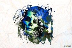 20 Beautiful portrait paint masks, halloween, Photoshop Product Image 7
