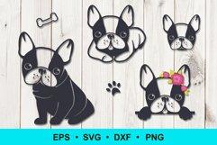 French bulldog clip art Product Image 1
