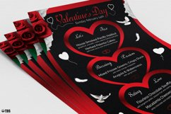 Valentines Day Menu Template V4 Product Image 5