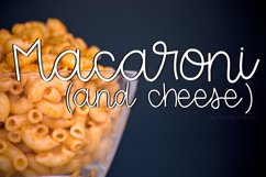 Macaroni And Cheese Script Product Image 1