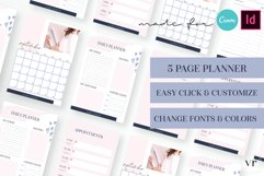 Lady Coach Planner Canva Template Product Image 1