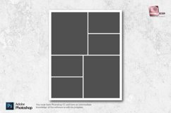 8x10 Photo Collage Templates Product Image 5