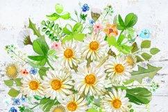 Watercolor Bouquet clipart Product Image 2