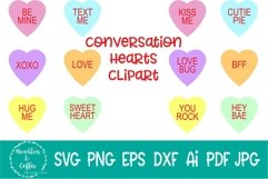 Conversation Hearts Clipart Product Image 1