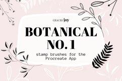 Botanical Procreate Stamp Brush Product Image 1