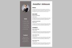 Creative resume template / CV. Bundle offer Product Image 6