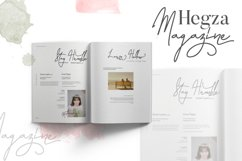 Laura Hellaw a lovely script font Product Image 4