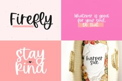 Spring Font Bundle - Fonts for Crafters Product Image 14