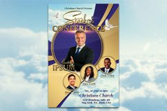 Speaker's Conference Church Flyer Product Image 4
