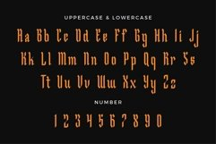 Malegroth - Blackletter Typeface Product Image 3