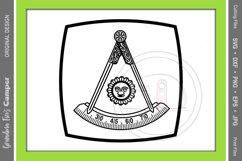 Masonic Past Master SVG Bundle, Five Framing Options Product Image 4