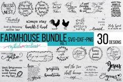 Farmhouse Bundle Vol. 1 30 Designs SVG, DXF, PNG, a few EPS Product Image 1