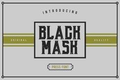 Web Font Black Mask Product Image 1