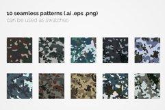 China Flecktarn Camouflage Patterns Product Image 2