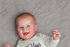 Mockup baby onesie Product Image 4