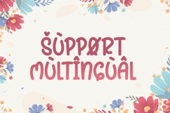Spring On - Cute Display Font Product Image 2