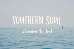 Southern Soul | Handwritten font Product Image 1