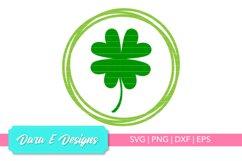 Lucky Clover SVG | St Patricks Day SVG | Luck Shirt Design Product Image 1