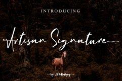 Artisan Signature // Business Signature Style - WEB FONT Product Image 1