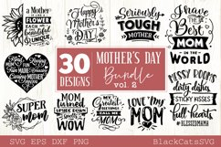 Mother's Day SVG bundle 30 designs Mother's Day SVG vol 2 Product Image 3