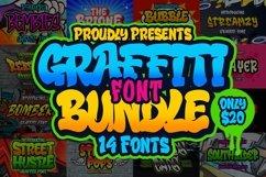 Graffiti Font Bundle Product Image 1