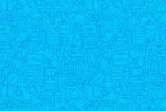 School & Education Line Tile Patterns Product Image 2