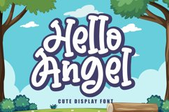 Hello Angel - Kids Font Product Image 1