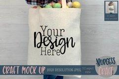 Boy holding easter bag Craft mock up Product Image 1