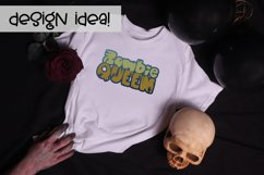 Biters | A Fun Zombielicious Font| Zombie Font| Halloween Product Image 2