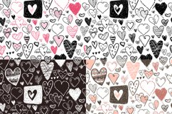 Vector doodle hearts, set Product Image 6