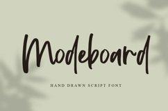 Modeboard | Handwritten Script Font Product Image 1