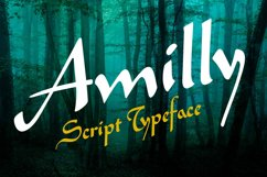 Amilly Script Product Image 1
