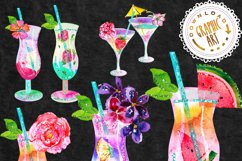 Summer Cocktail Clip Art Product Image 2