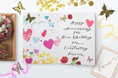 Anniversa Wedding Font Product Image 4