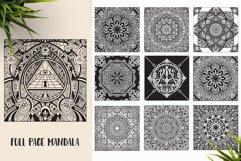 530 Vector Mandala Ornaments Bundle Product Image 16