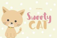 Web Font Sweety Cat Product Image 1