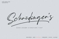 Schrödinger's | Signature Font Product Image 1