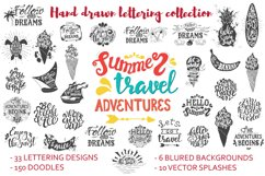 Handwritten travel & summer lettering Product Image 1