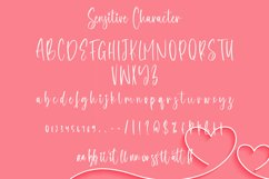 Sensitive - Beautiful Handwritten Font Product Image 3