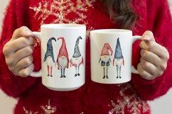 Woman holding a 15oz and 11oz mug, Red christmas jumper Product Image 2