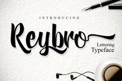 Web Font Reybro Script Product Image 1