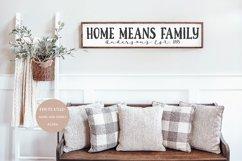 HOME & FAMILY Farmhouse Serif Font Product Image 5