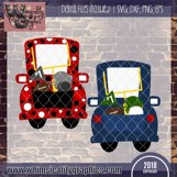 Football Whimsy Truck SVG, DXF, PNG, EPS Comm and Pers Product Image 2