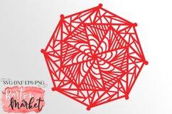 Mosaic Hexagon Mandala Illustration Product Image 1
